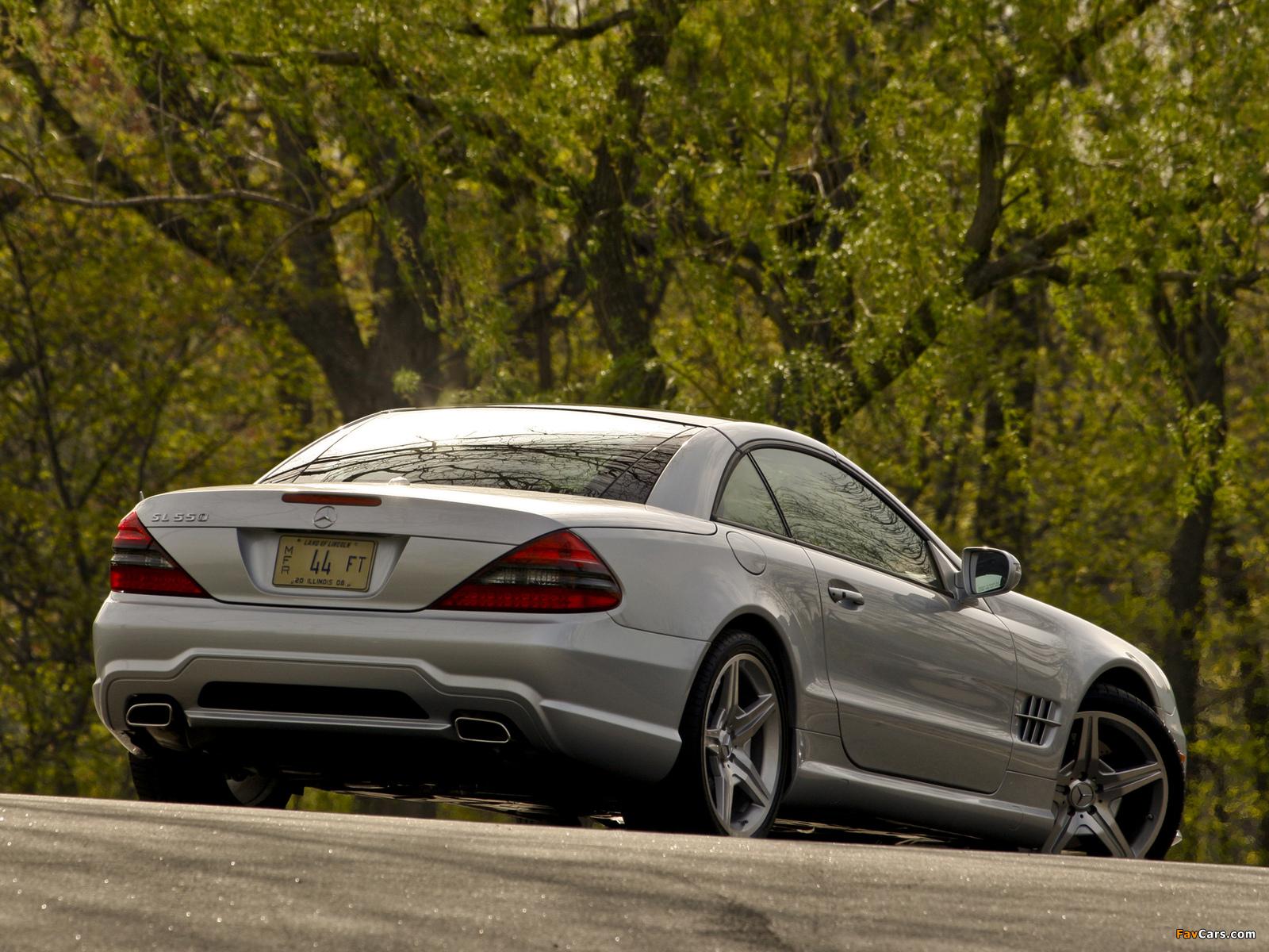 Mercedes-Benz SL 550 (R230) 2008–11 photos (1600 x 1200)