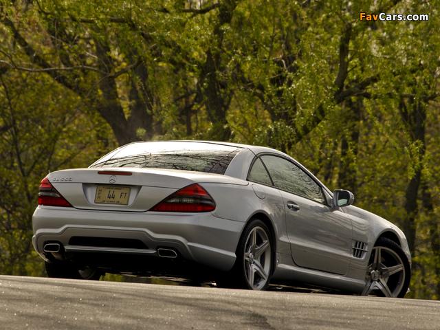 Mercedes-Benz SL 550 (R230) 2008–11 photos (640 x 480)