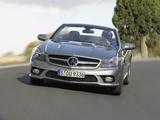 Mercedes-Benz SL 350 (R230) 2008–11 pictures