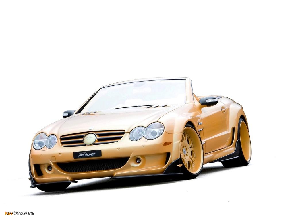 FAB Design Mercedes-Benz SL 600 Widebody (R230) 2008 pictures (1024 x 768)