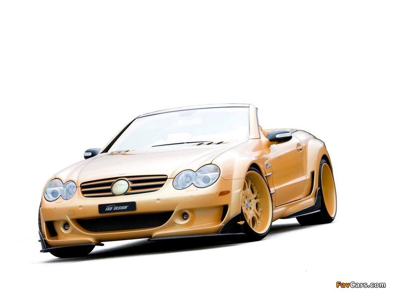 FAB Design Mercedes-Benz SL 600 Widebody (R230) 2008 pictures (800 x 600)