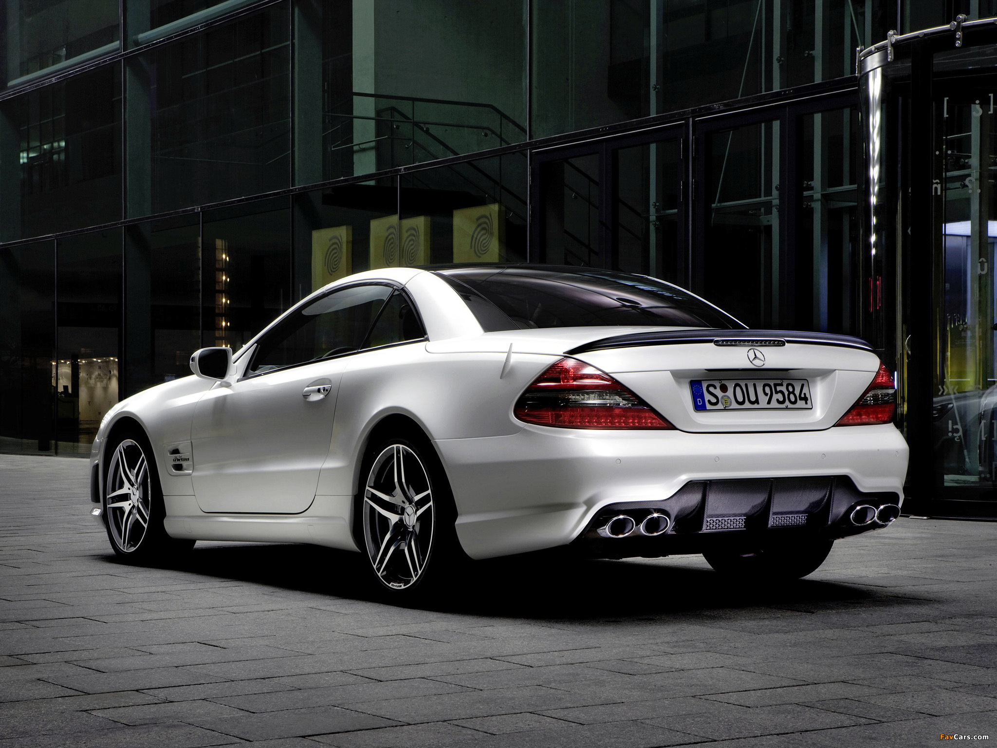 Mercedes-Benz SL 63 AMG Limited Edition IWC (R230) 2008 wallpapers (2048 x 1536)