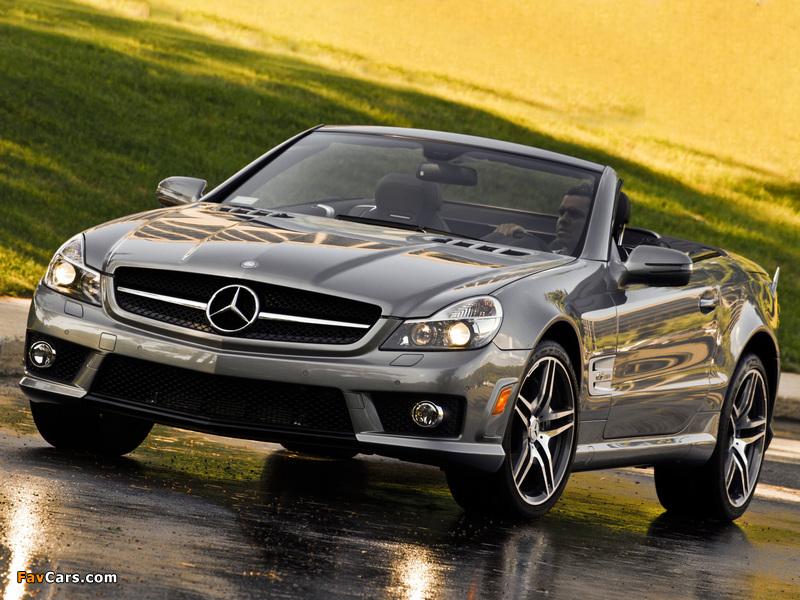 Mercedes-Benz SL 63 AMG US-spec (R230) 2008–11 wallpapers (800 x 600)