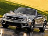 Mercedes-Benz SL 63 AMG US-spec (R230) 2008–11 wallpapers