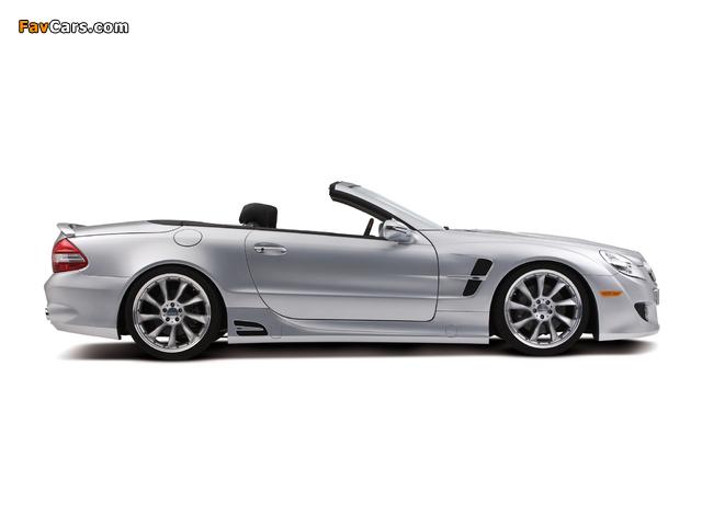 Lorinser Mercedes-Benz SL-Klasse (R230) 2008–11 wallpapers (640 x 480)