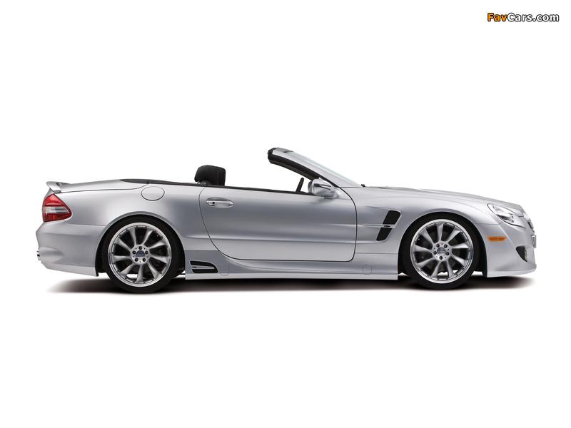 Lorinser Mercedes-Benz SL-Klasse (R230) 2008–11 wallpapers (800 x 600)
