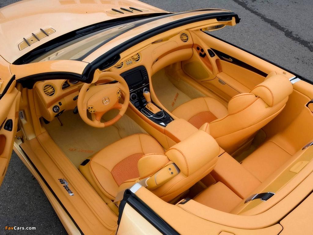 FAB Design Mercedes-Benz SL 600 Widebody (R230) 2008 wallpapers (1024 x 768)