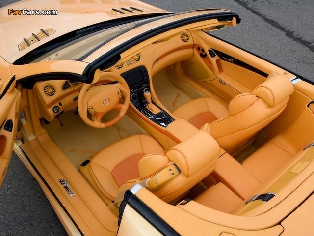 FAB Design Mercedes-Benz SL 600 Widebody (R230) 2008 wallpapers (640 x 480)