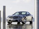 Mercedes-Benz SL 350 (R230) 2008–11 wallpapers