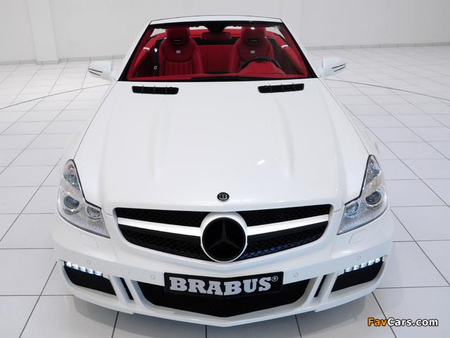 Brabus S V12 R (R230) 2009 photos (640 x 480)
