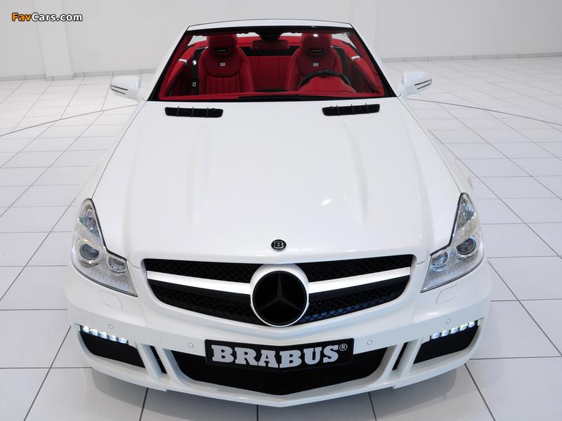 Brabus S V12 R (R230) 2009 photos (800 x 600)