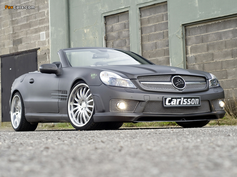 Carlsson CK 63 RS (R230) 2009 wallpapers (800 x 600)
