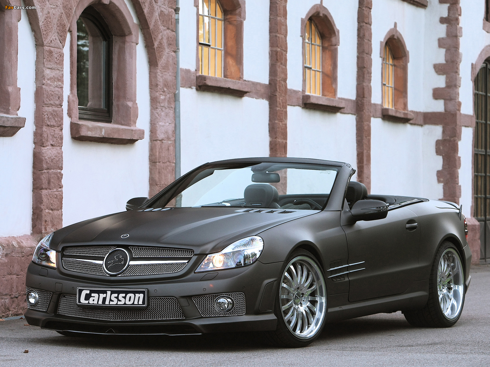 Carlsson CK 63 RS (R230) 2009 wallpapers (1600 x 1200)