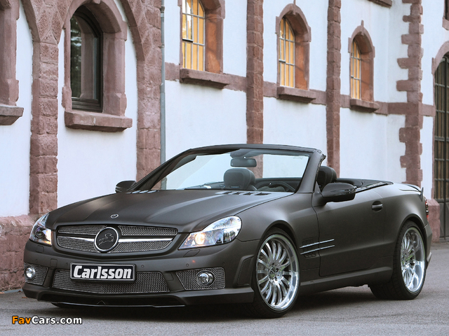 Carlsson CK 63 RS (R230) 2009 wallpapers (640 x 480)