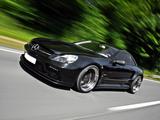 Inden Design Mercedes-Benz SL 63 AMG Black Saphir (R230) 2010 images