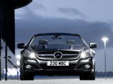 Mercedes-Benz SL 350 Night Edition UK-spec (R230) 2010–11 photos