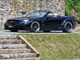 Inden Design Mercedes-Benz SL 63 AMG Black Saphir (R230) 2010 photos