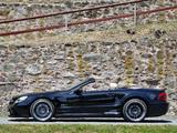 Inden Design Mercedes-Benz SL 63 AMG Black Saphir (R230) 2010 pictures