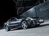 Mercedes-Benz SL 350 Night Edition UK-spec (R230) 2010–11 pictures