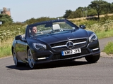 Mercedes-Benz SL 500 AMG Sports Package UK-spec (R231) 2012 images