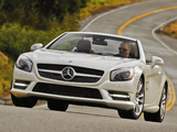 Mercedes-Benz SL 550 AMG Sports Package (R231) 2012 images