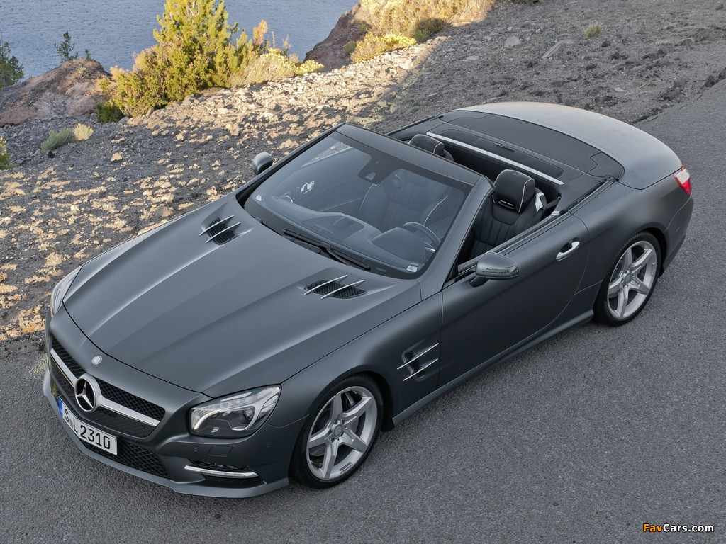 mercedes benz sl 500 amg sports package r231 2012 images 1024x768. Black Bedroom Furniture Sets. Home Design Ideas