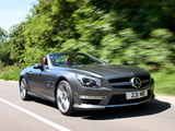 Mercedes-Benz SL 63 AMG UK-spec (R231) 2012 images