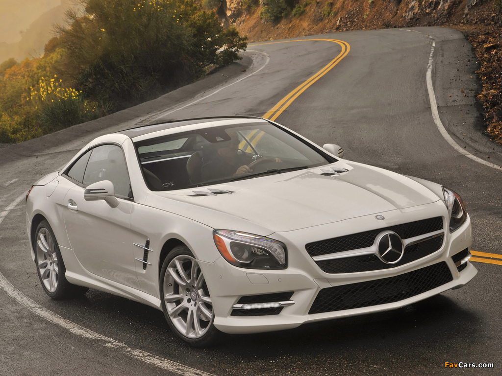 Mercedes-Benz SL 550 AMG Sports Package (R231) 2012 images (1024 x 768)