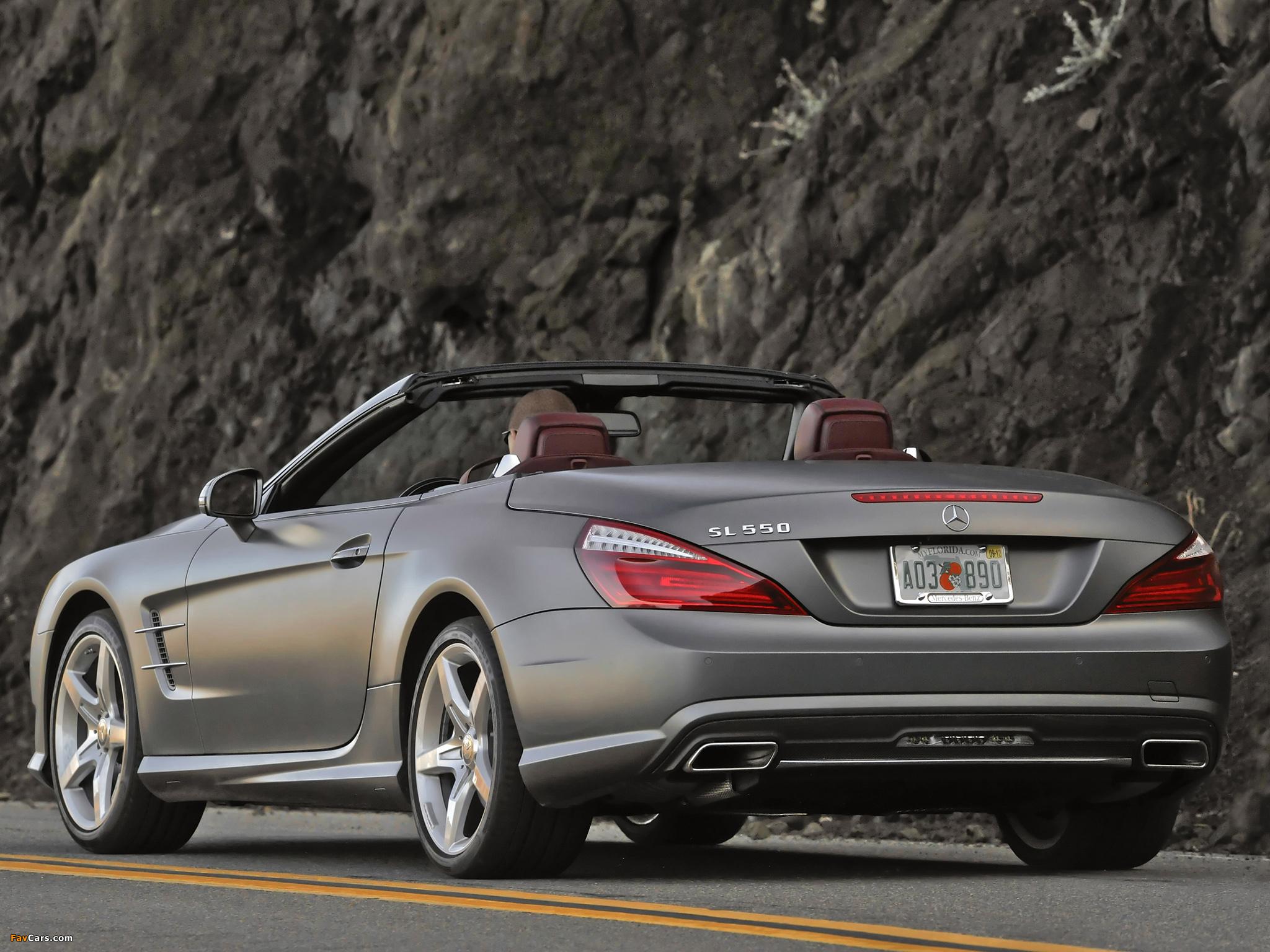 Mercedes-Benz SL 550 AMG Sports Package (R231) 2012 photos (2048 x 1536)