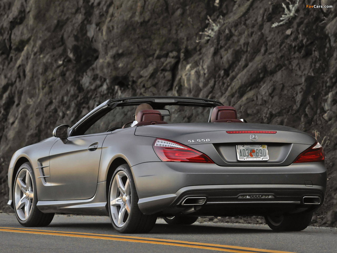 Mercedes-Benz SL 550 AMG Sports Package (R231) 2012 photos (1280 x 960)