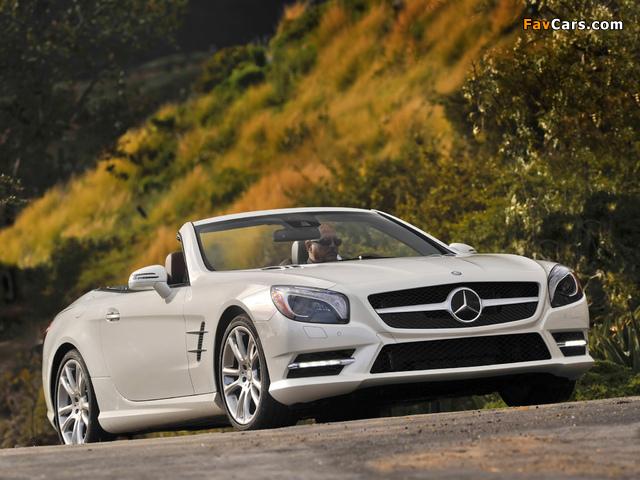 Mercedes-Benz SL 550 AMG Sports Package (R231) 2012 photos (640 x 480)