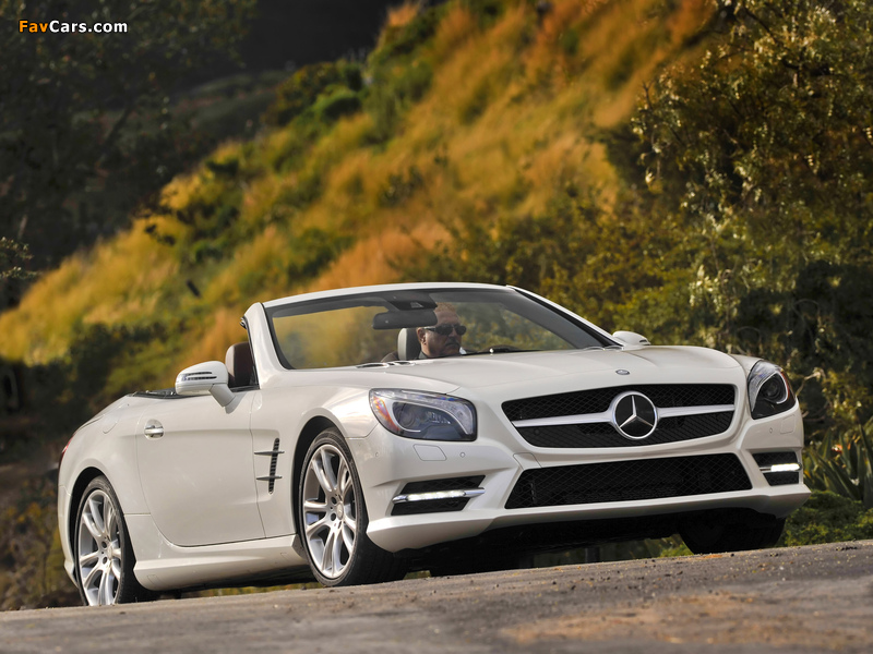 Mercedes-Benz SL 550 AMG Sports Package (R231) 2012 photos (800 x 600)