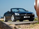 Mercedes-Benz SL 500 AMG Sports Package UK-spec (R231) 2012 photos