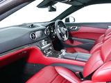 Mercedes-Benz SL 63 AMG UK-spec (R231) 2012 pictures