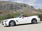 Mercedes-Benz SL 500 AMG Sports Package Edition 1 (R231) 2012 wallpapers