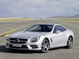 Mercedes-Benz SL 350 AMG Sports Package Edition 1 (R231) 2012 wallpapers