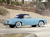 Photos of Mercedes-Benz 190 SL (R121) 1955–62