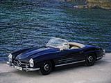 Photos of Mercedes-Benz 300 SL (R198) 1957–63
