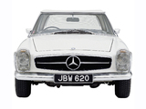 Photos of Mercedes-Benz 230 SL UK-spec (W113) 1963–67