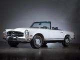 Photos of Mercedes-Benz 280 SL US-spec (W113) 1967–71