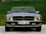 Photos of Mercedes-Benz SL-Klasse (R107) 1971–89