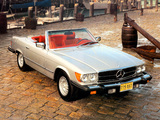 Photos of Mercedes-Benz 450 SL US-spec (R107) 1972–80