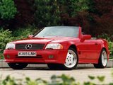 Photos of Mercedes-Benz SL 60 AMG UK-spec (R129) 1993–98