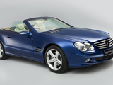 Photos of Mercedes-Benz SL 500 UK-spec (R230) 2001–05