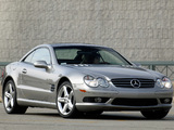Photos of Mercedes-Benz SL 500 US-spec (R230) 2001–05