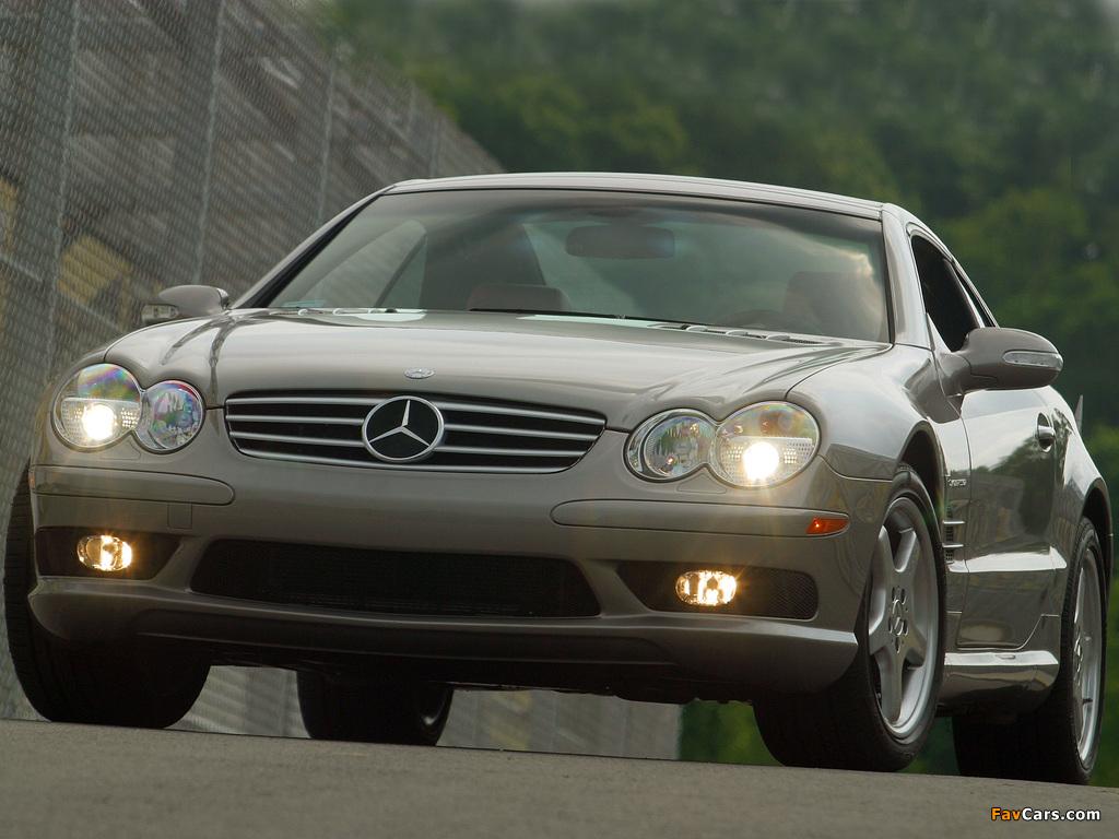 Photos of Mercedes-Benz SL 55 AMG US-spec (R230) 2001–08 (1024 x 768)