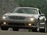 Photos of Mercedes-Benz SL 55 AMG US-spec (R230) 2001–08