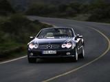 Photos of Mercedes-Benz SL 600 (R230) 2005–08
