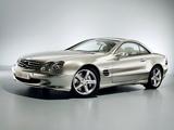 Photos of Mercedes-Benz Vision SL 400 CDI (R230) 2005