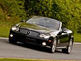 Photos of Mercedes-Benz SL 600 US-spec (R230) 2005–08